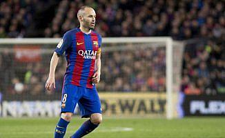 Barcelona kaptanı Iniesta'dan 'Çin' açıklaması