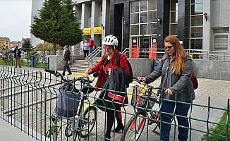 Çorum'un bisikletli kadınları