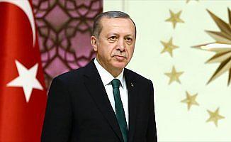 Cumhurbaşkanı Erdoğan'a KKTC'de 'Yılın Devlet Adamı' ödülü