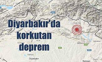 Diyarbakır Silvan'da deprem; Silvan'da deprem oldu