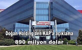 Doğan Holding'denKAP'a açıklama