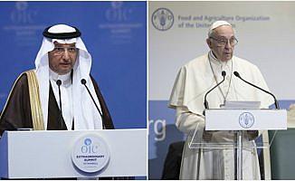 İİT Genel Sekreteri Useymin, Papa ile görüştü