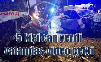 Kayseri'de 5 kişinin öldüğü kazada 2 ağır yaralı var
