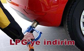LPG'ye indirim
