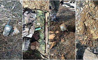 Mehmetçik'ten teröristlerin sığınaklarına operasyon