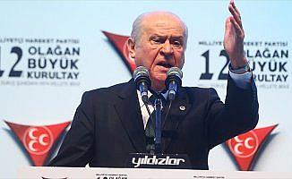 MHP Genel Başkanı Bahçeli: Kurultay dirilişin ve yükselişin miladı olacaktır