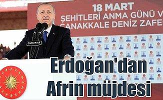 Müjdeyi Erdoğan verdi: Afrin şehir merkezi kontrol altında