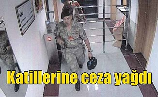Ömer Halisdemir'i şehit eden FETÖ'cü canilere ceza yağdı
