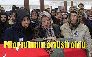 Pilot Melike Kuvvet Konya'da toprağa verildi