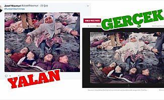 PYD/PKK, Erzurumlu depremzedeleri Afrin yalanlarına alet etti