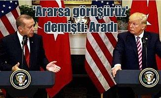 Son dakika haberi; Erdoğan, Trump ile Münbiç'i görüştü