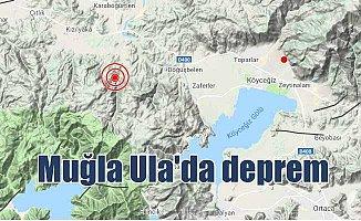 Son depremler: Muğla Ula 3.4 ile sallandı