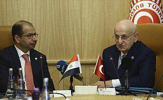 TBMM Başkanı Kahraman, Irak Temsilciler Meclisi Başkanı Cuburi ile görüştü