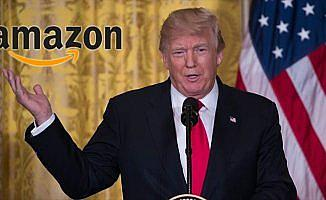 Trump'tan Amazon'a eleştiri