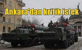 Türkiye, S-400 teslimatının hızlandırılmasını istedi