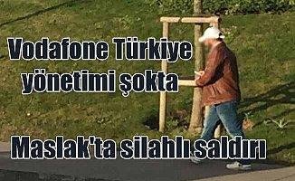 Vodafone Genel Müdür Yardımcısı'na Maslak'ta silahlı saldırı