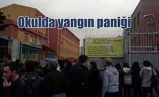 Zeytinburnu Anadolu Teknik Meslek Lisesi'nde yangın