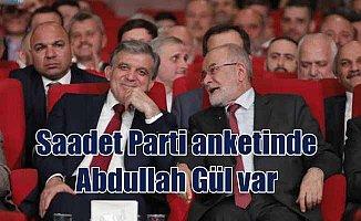 Abdullah Gül, Saadet Partisi'nden aday olacak mı?