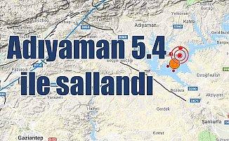 Adıyaman'da deprem oldu: Adıyaman Samsat 5.4 ile sallandı