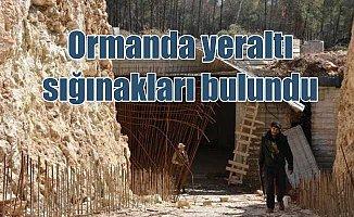 Afrin'de PKK için yapılan bin kişilik sığınak bulundu