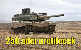 Altay tankı üretimi için ilk kez sayı açıklandı
