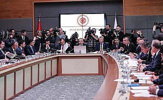 Anayasa Komisyonu ortak seçim önergesi için toplanıyor