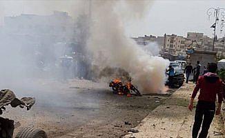 Azez meclis binası yakınında patlama