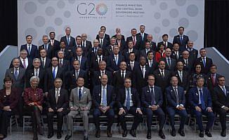Başbakan Yardımcısı Şimşek 'G20 Aile Fotoğrafı' çekimine katıldı