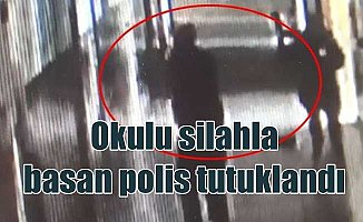 Bursa'da okulu kana bulayan polis memuru tutuklandı