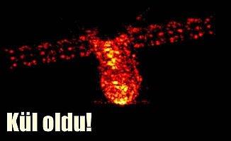 Çin'in kontrolden çıkan uzay istasyonu atmosferde yandı