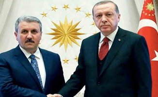 Cumhurbaşkanı Erdoğan, BBP Lideri Destici ile 15.00'te görüşüyor