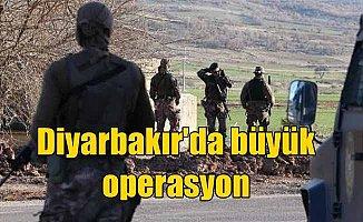 Diyarbakır'da büyük operasyon: Lice ve Kulp'ta başladı