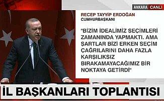 Erdoğan; Biz milletin gözü önünde ittifak yaptık