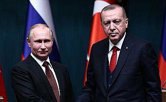 Erdoğan ile Putin Doğu Guta'yı görüştü