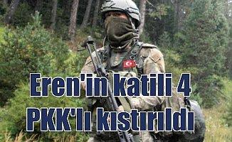 Eren Bülbül'ün katili 4 terörist Kürtün'de kıstırıldı