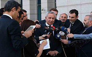 Eski TBMM Başkanı Arınç: AK Parti ve Genel Başkanına zarar verecek hiçbir hareketin içinde olmam