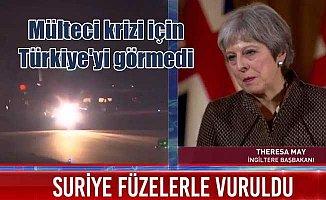 İngiliz Başbakan Türkiye'deki mültecileri görmedi bile