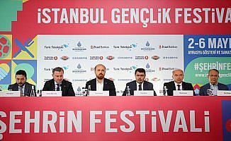 İstanbul Gençlik Festivali 2 Mayıs'ta başlayacak