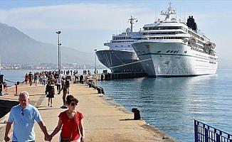 Kruvaziyerle turist getirene milyonlarca dolarlık destek
