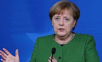 Merkel'den 'Suriye' açıklaması