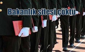 Milli Savunma Bakanlığı internet sitesi çöktü