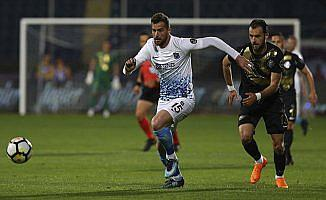 Osmanlıspor-Trabzonspor maçında 6 gol birer puan var