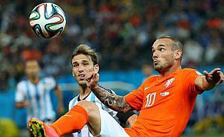 Sneijder'e milli takımda jübile maçı