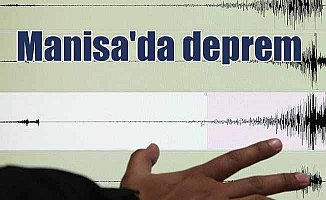 Son Dakika Deprem; Manisa'da deprem, Saruhanlı 3.4 ile sallandı