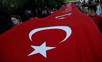 Türkiye 57. Alay'a vefa için yürüdü