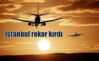 Türkiye'deki uçuşların yüzde 46'sı İstanbul'dan yapıldı