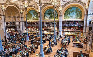 Uygarlığın belleği kütüphaneler