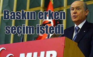 Yine aynı taktik; Bahçeli Türkiye'yi erken seçime götürmek istiyor