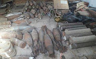 Afrin'de PKK/PYD'ye ait yeni mühimmat deposu bulundu