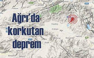 Ağrı'da deprem; Ağrı Sarıharman'da deprem oldu 4.3